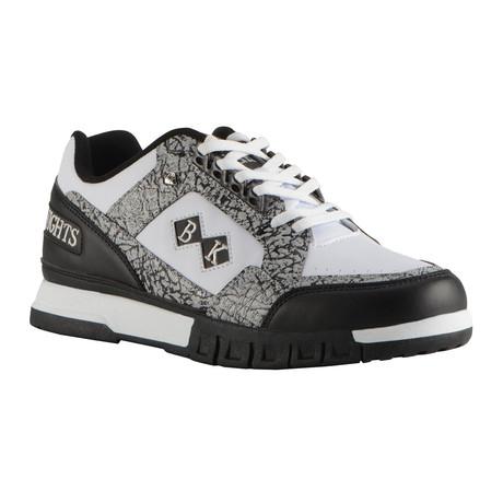 Metros Sneaker // Black + Cement + White (US: 7)