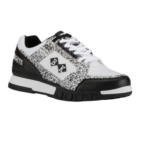 Metros Permahide Sneaker  // Black + White (US: 7)