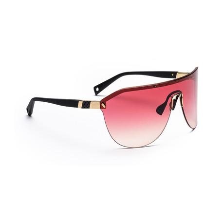 Men's VIBE 01 Sunglasses // Black + Pink