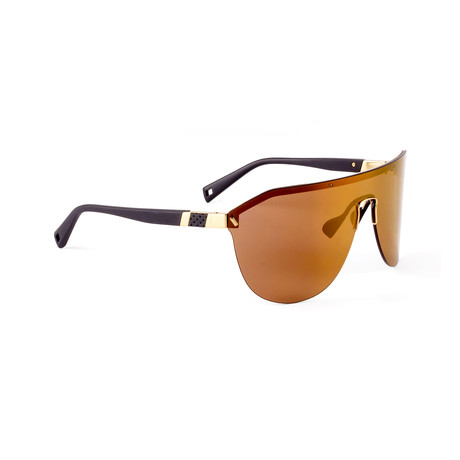 Men's VIBE 04 Sunglasses // Black + Gold