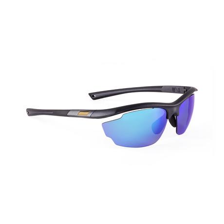 Men's VOLT 09 Sunglasses // Black + Blue
