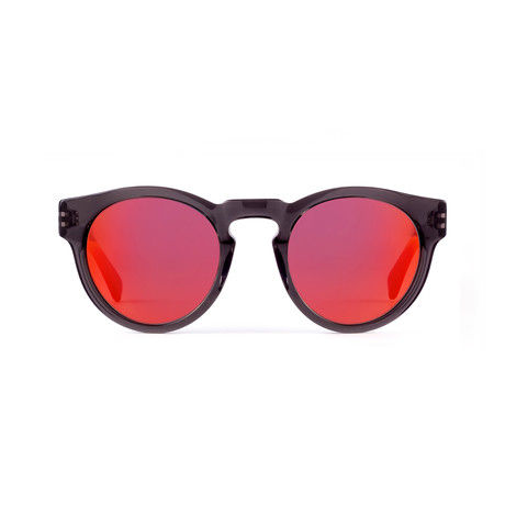 Unisex Voyager 42 Sunglasses // Slate + Red Mirror