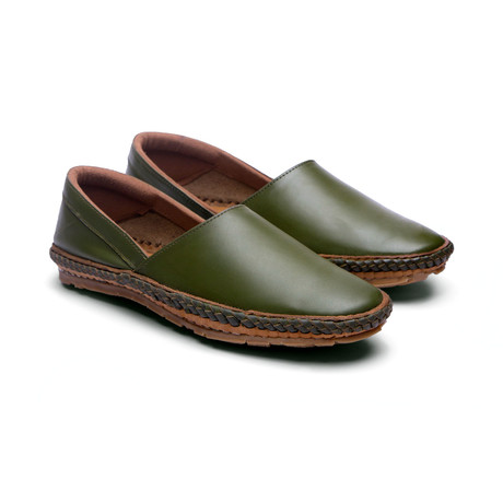 Tycoon // Olive Green (US: 7)