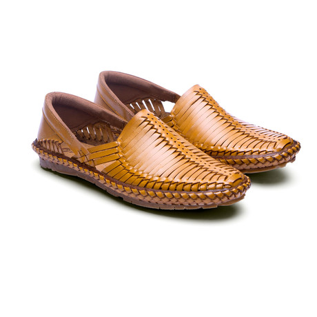 Heir Leather Sandals // Natural (US: 7)