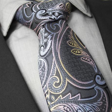 Hugo Handcrafted Silk Tie // Multicolor