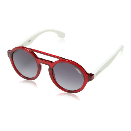 Carrera // Men's Carrerino 19 05Sk Sunglasses // Matte Red + White + Gray Gradient