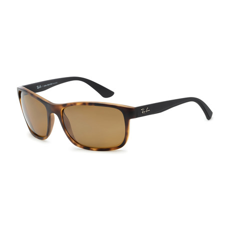 Ray-Ban // RB4301L Polarized Sunglasses // Havana + Brown