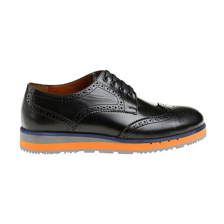 Rafael Modern Shoe // Black + Orange (Euro: 39)