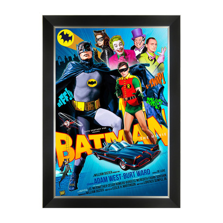 Batman The Movie // Framed Art Print