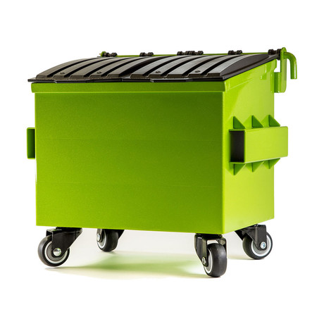 Mini Dumpster // Sparkle Lime