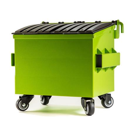 Mini Dumpster // Sparkle Green