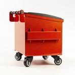 Mini Dumpster // Sparkle Red