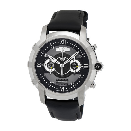 Dewitt Glorious Knight Chronograph Automatic // FTV.CHR.001.RFB // New