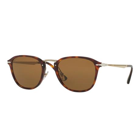 Calligrapher Polarized Sunglasses // Havana + Brown
