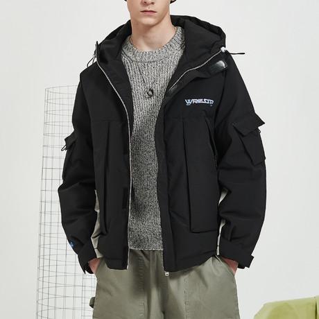 Modern Chic Down Jacket // Black (S)