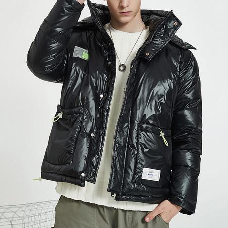 Nylon Insulated Down Jacket // Black (S)