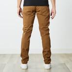 Slim 5 Pocket Twill Colored Jean // Tobacco (30WX30L)