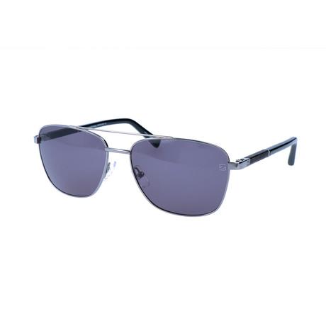 Ermenegildo Zegna // Men's EZ0014 Sunglasses // Gray + Silver