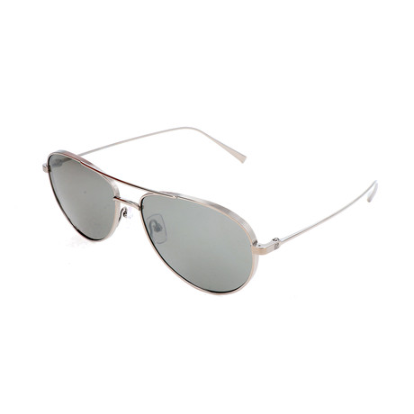 Ermenegildo Zegna // Men's EZ0072 Sunglasses // Shiny Dark Ruthenium
