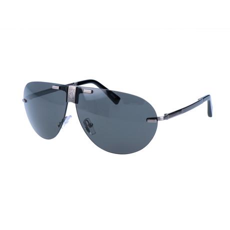 Ermenegildo Zegna // Men's EZ0015 Sunglasses // Gray + Silver
