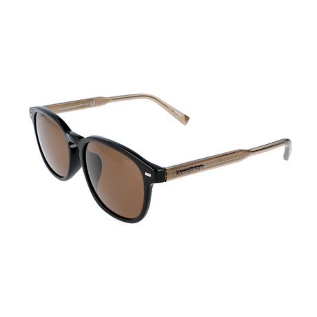 Ermenegildo Zegna // Men's EZ0005-F Sunglasses // Black