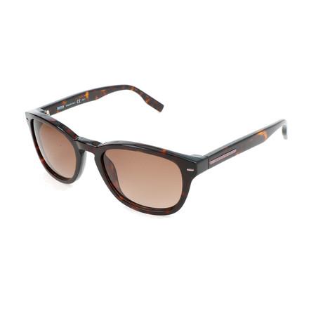 Hugo Boss // Men's 0471 Sunglasses // Dark Havana