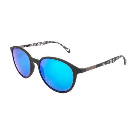 Hugo Boss // Men's 0822 Sunglasses // Black Havana + Blue