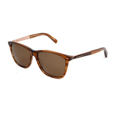 Ermenegildo Zegna // Men's EZ0023 Sunglasses // Tortoise