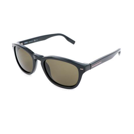 Hugo Boss // Men's 0471 Sunglasses // Black