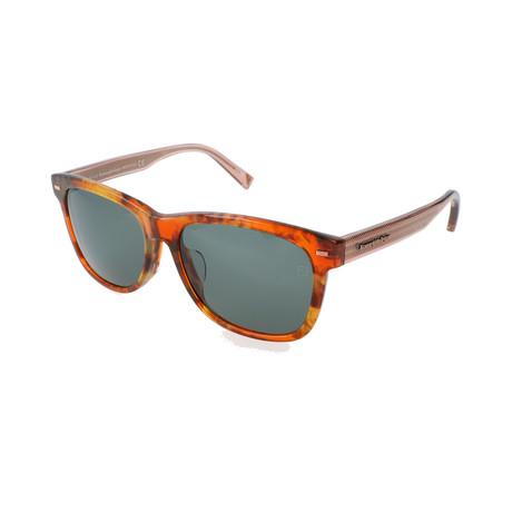 Ermenegildo Zegna // Men's EZ0028-F Sunglasses // Colored Havana