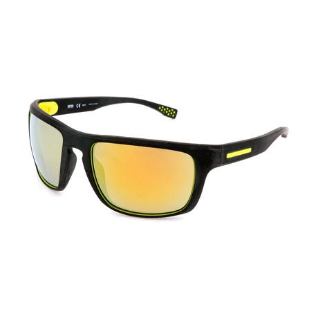 Hugo Boss // Men's 0800 Sunglasses // Black + Yellow