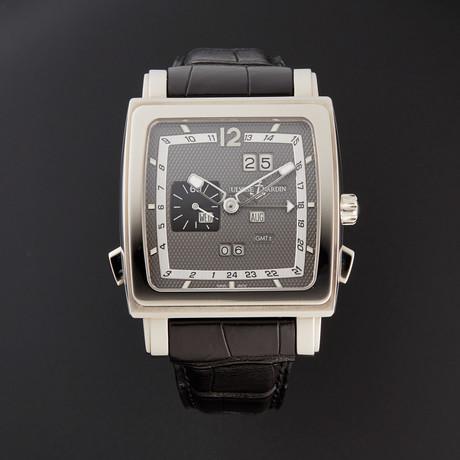 Ulysse Nardin Quadrato Dual Time Automatic // 320-90 // Pre-Owned