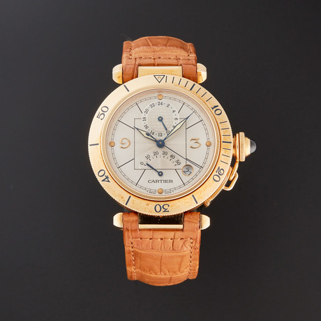 Cartier Pasha Seatimer Automatic // W3014456 // Pre-Owned