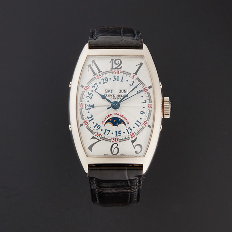 Franck Muller Cintree Curvex Master Calendar Automatic // 5850 MC L // Pre-Owned