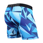 Entourage Boxer Brief // Technicolor Blue (S)