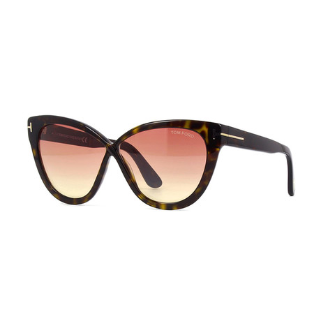 Women's Arabella Sunglasses // Havana + Pink