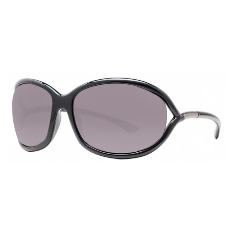 Women's Jennifer Soft Square Sunglasses V2 // Black + Gray