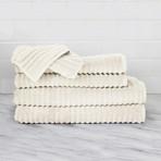 Zero Twist // 6 Piece Towel Set (Anthracite Gray)