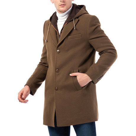 Stockholm Overcoat // Camel (Small)