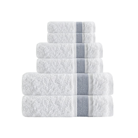 Unique // 6 Piece Towel Set (Anthracite)