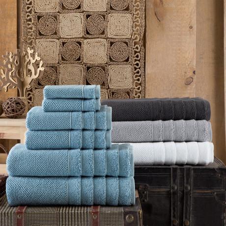 Veta // 6 Piece Towel Set (Anthracite)
