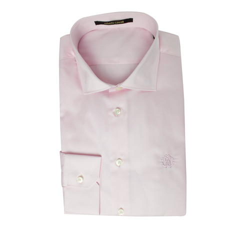Romano Comfort Fit Dress Shirt // Pink (US: 14.5R)