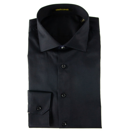 Pino Comfort Fit Dress Shirt // Black (US: 15R)
