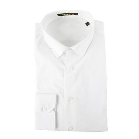 Demarco Slim Fit Dress Shirt // White (US: 15R)