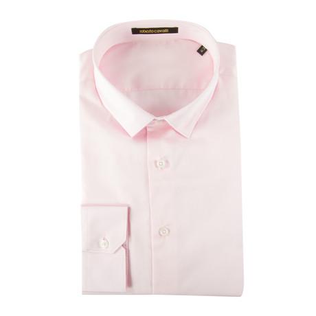 Bruno Slim Fit Dress Shirt // Pink (US: 14.5R)