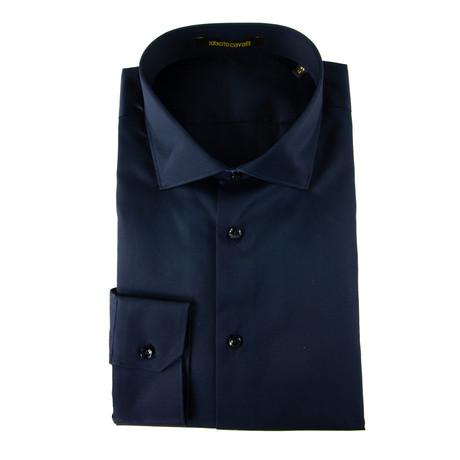Zachariah Comfort Fit Dress Shirt // Navy (US: 15R)