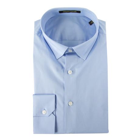 Russo Slim Fit Dress Shirt // Light Blue (US: 15R)