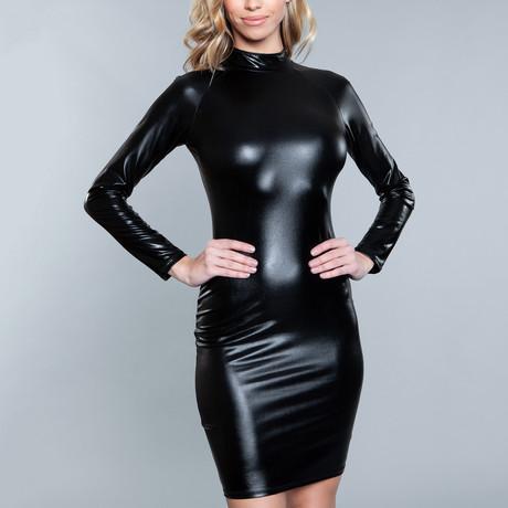 Dominatrix Dress // Black (Small)
