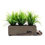 PowerPlant 4-Port Tall Grass Charging Station // Taupe