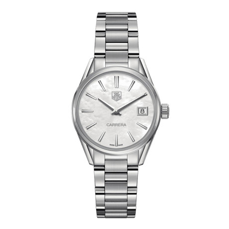 Tag Heuer Ladies Carrera Quartz // WBK1311.BA0652 // New